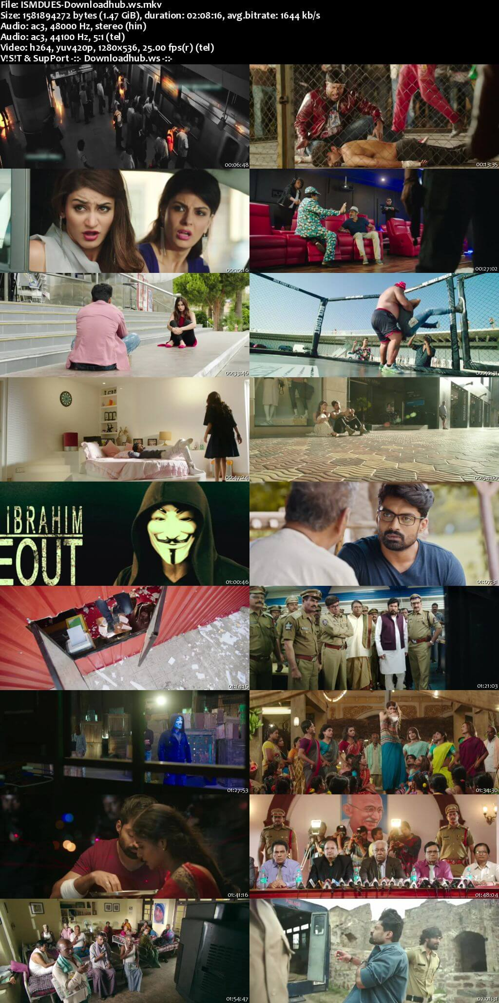 ISM 2016 UNCUT Hindi Dual Audio 720p HDRip Free Download