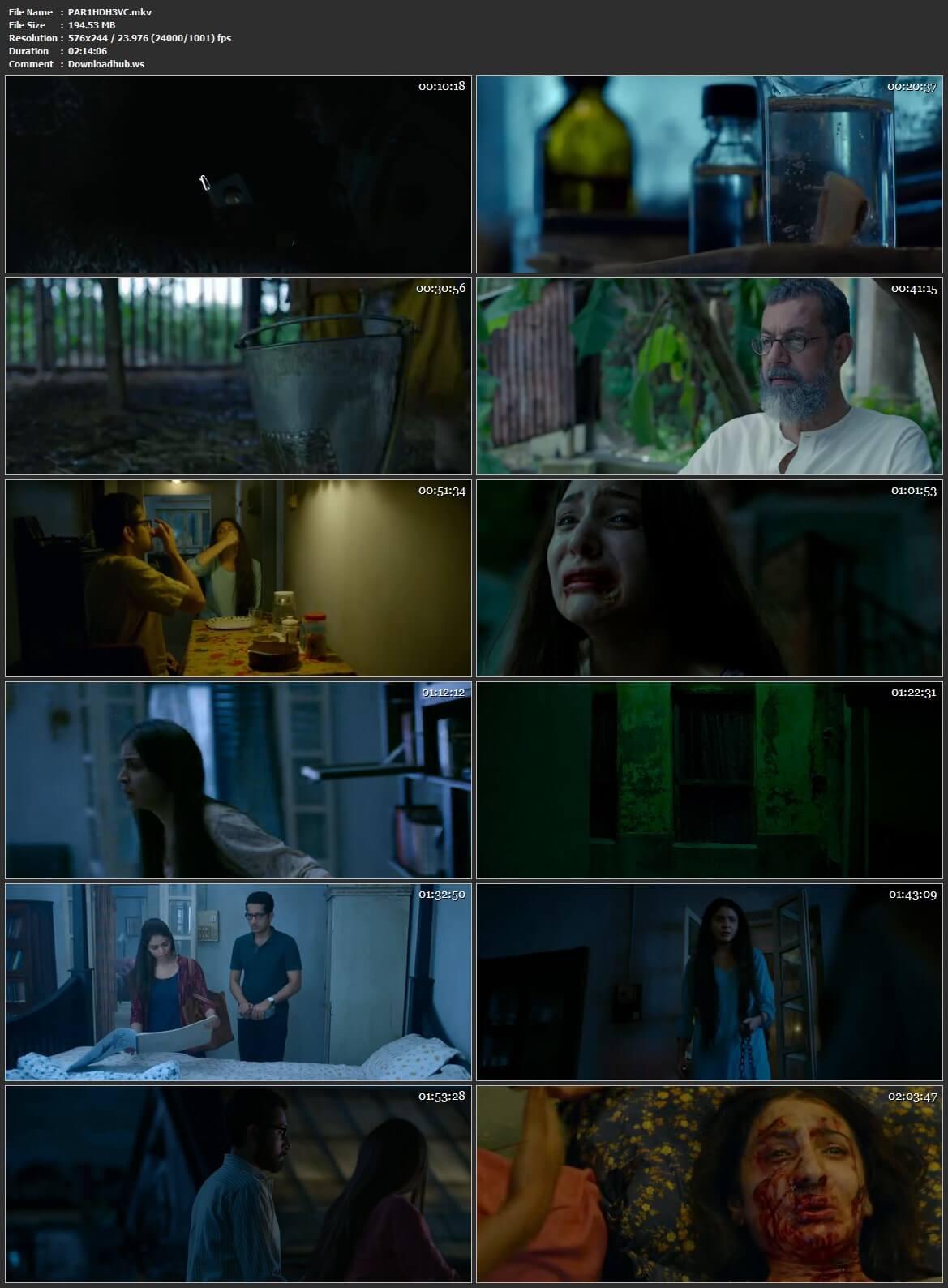 Pari 2018 Hindi HEVC 480p HDRip ESubs