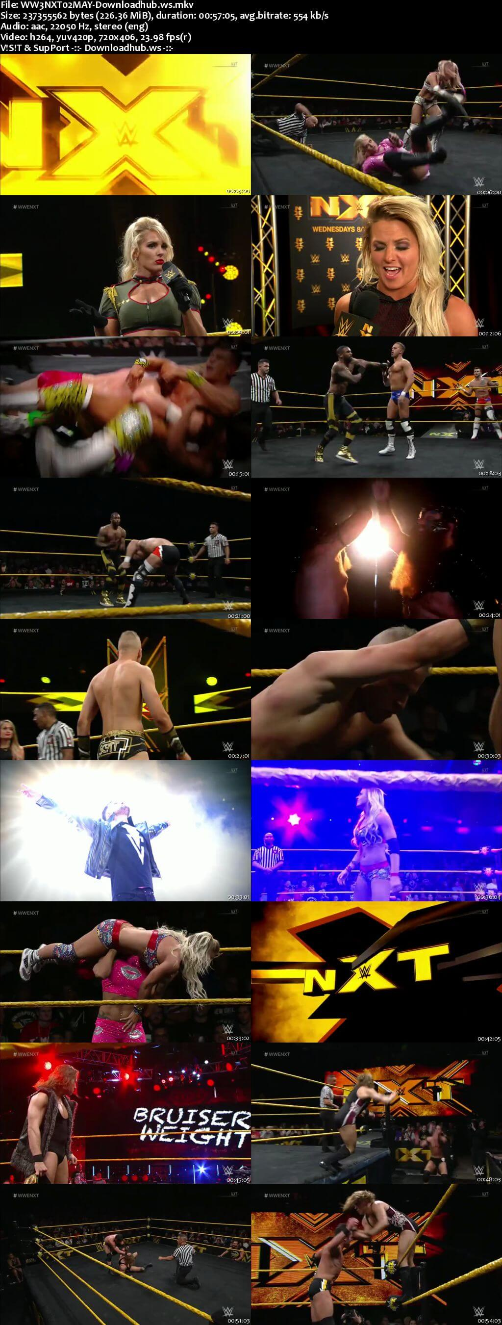 WWE NXT 02 May 2018 480p HDTV Download