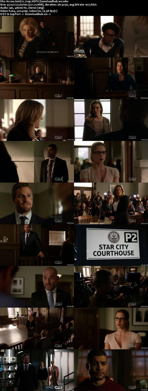 Arrow S06E21 320MB HDTV 720p x264