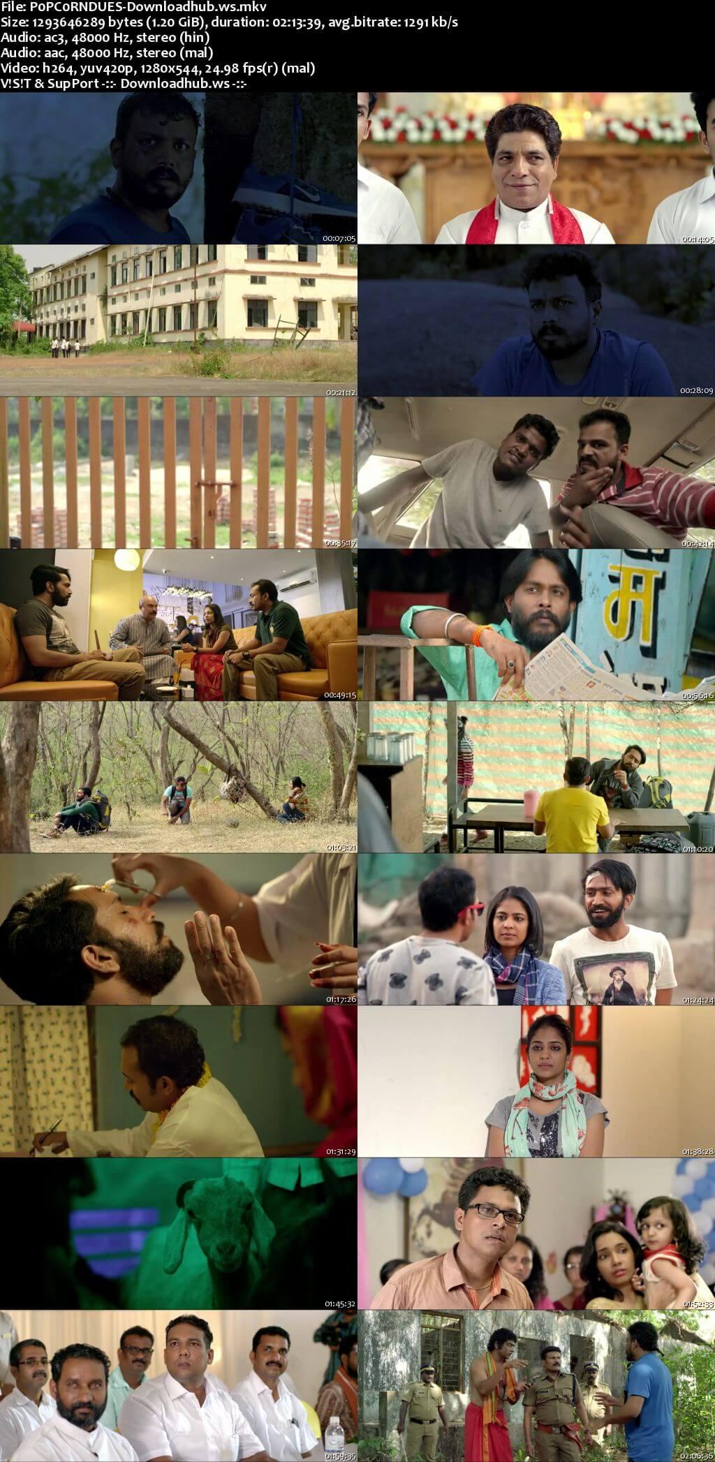 Popcorn 2016 UNCUT Hindi Dual Audio 720p HDRip Free Download