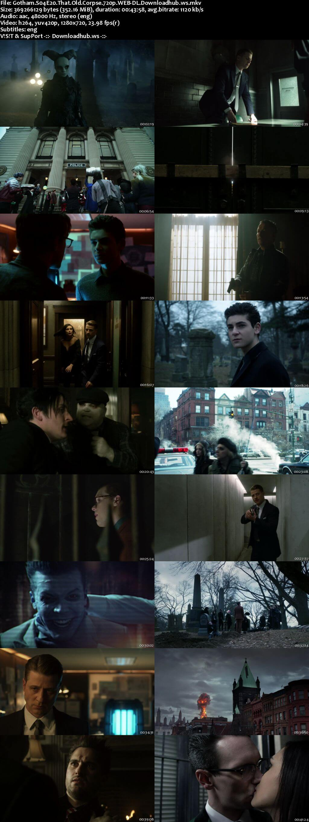 Gotham S04E20 350MB Web-DL 720p x264 ESubs