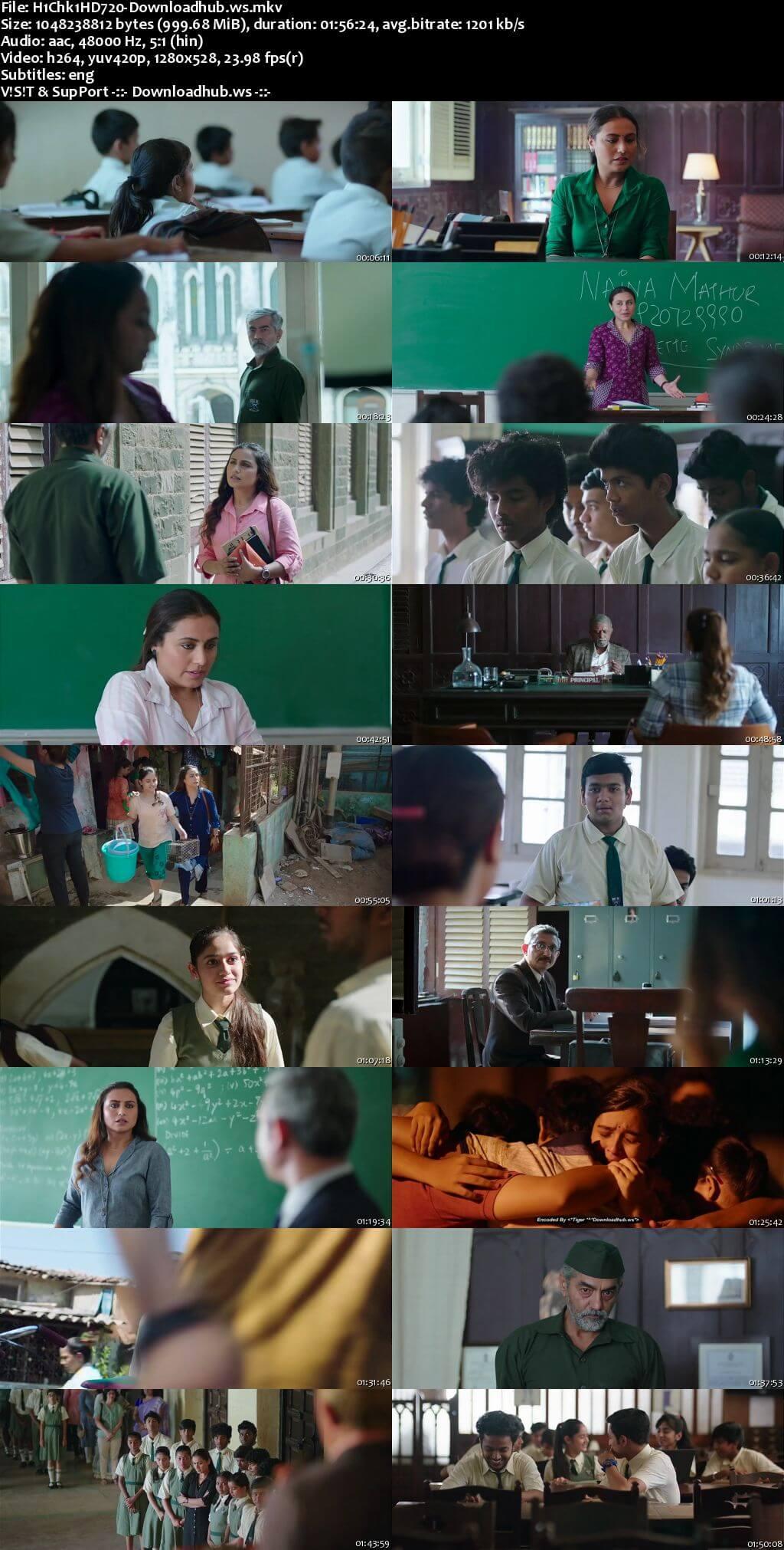 Hichki 2018 Hindi 720p HDRip ESubs