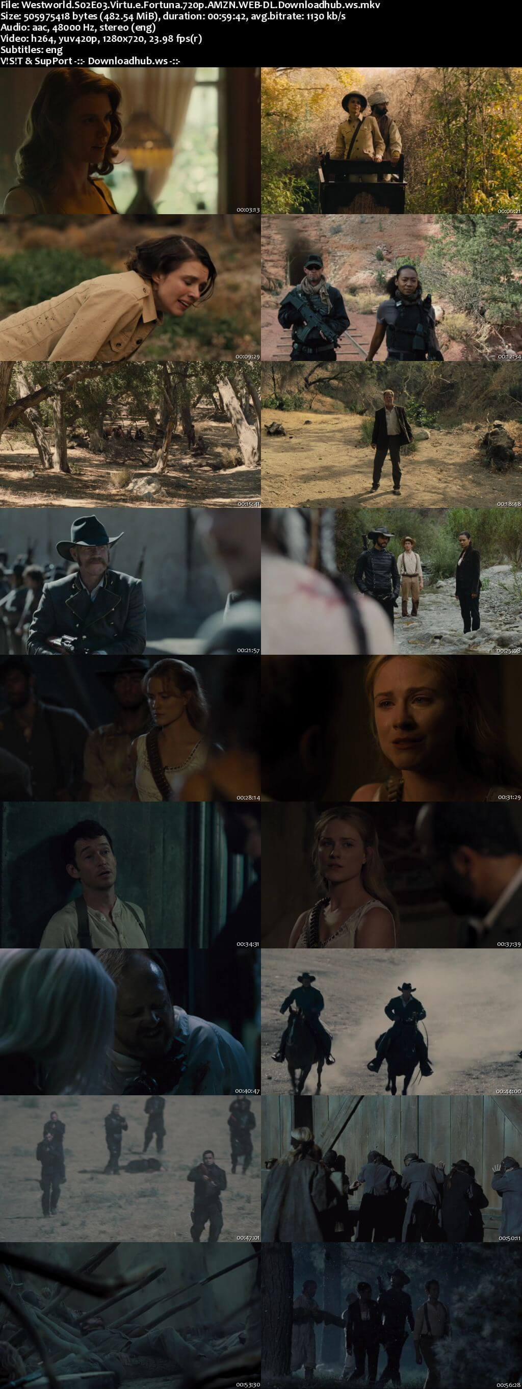 Westworld S02E03 480MB WEB-DL 720p x264