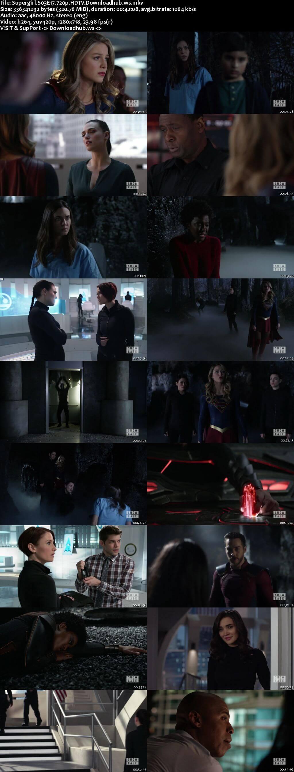 Supergirl S03E17 321MB HDTV 720p x264