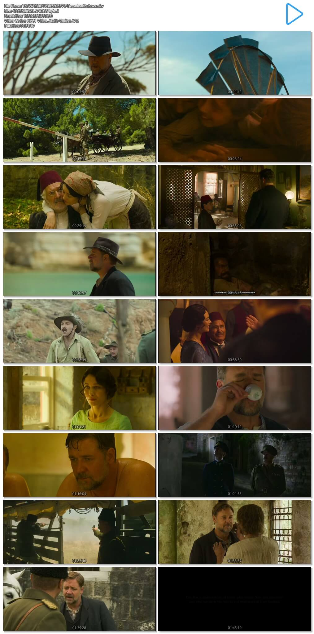 The Water Diviner 2014 Hindi Dual Audio 720p HEVC BluRay Free Download