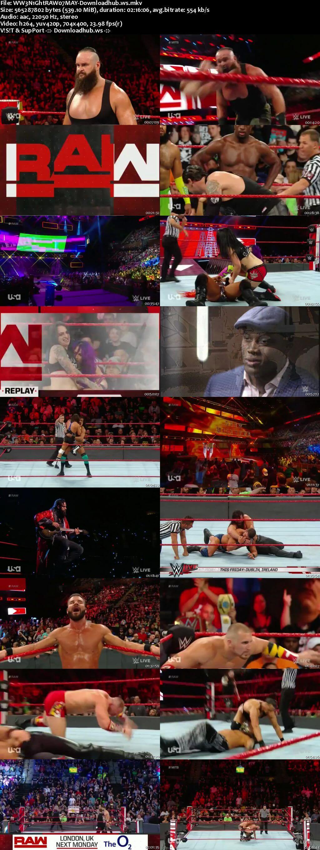 WWE Monday Night Raw 07 May 2018 480p HDTV Download