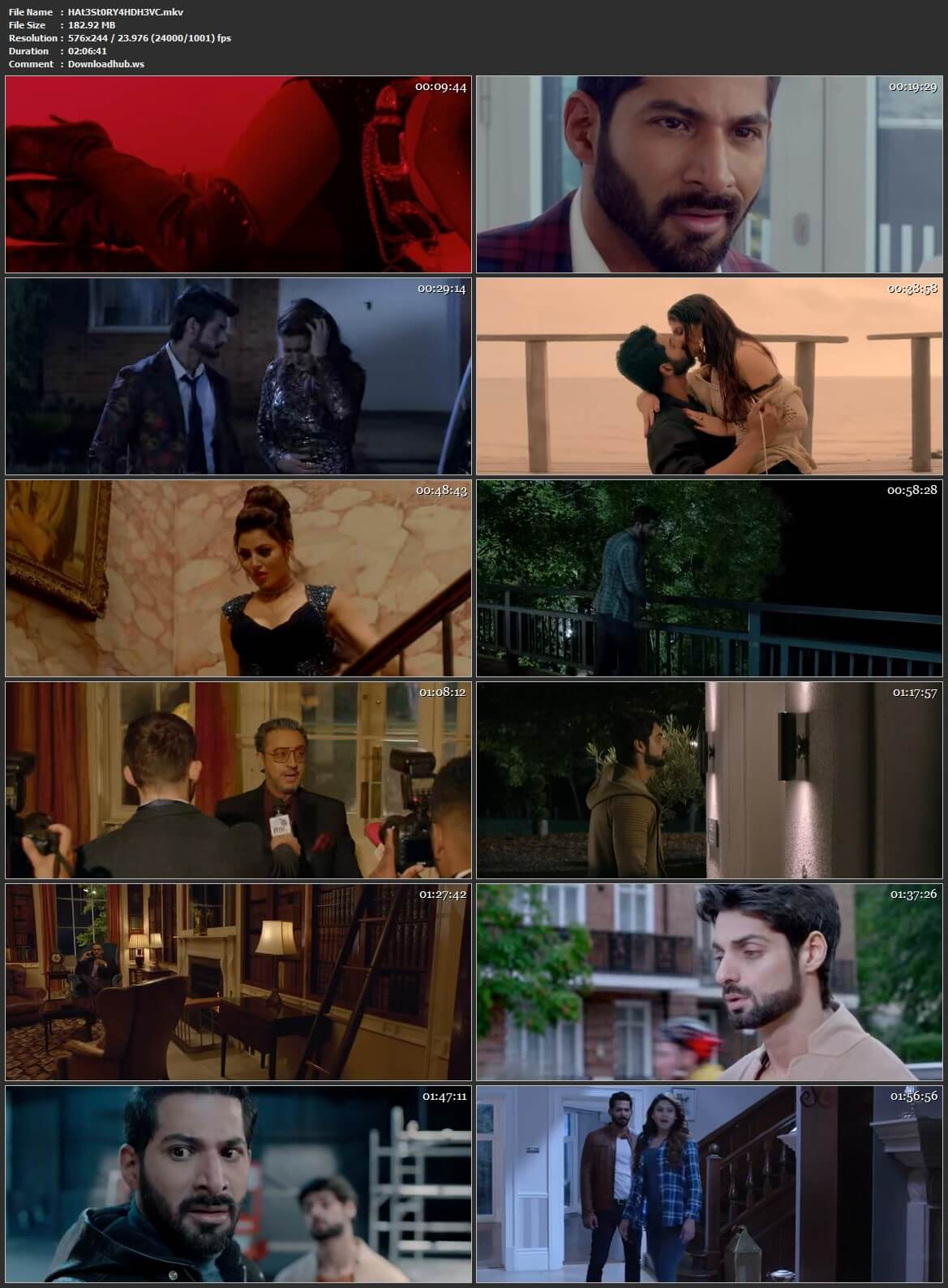 Hate Story 4 2018 Hindi HEVC 480p HDRip ESubs