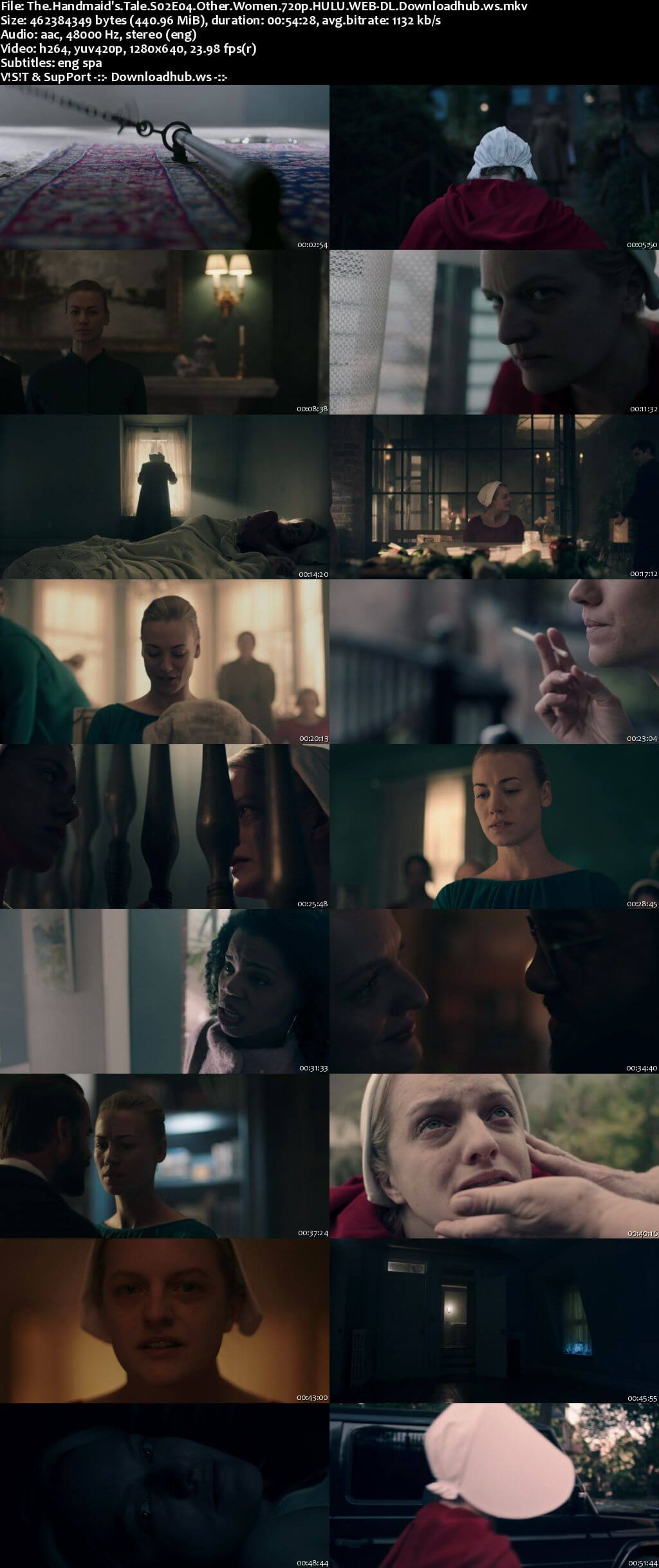 The Handmaids Tale S02E04 440MB HULU WEB-DL 720p x264 ESubs