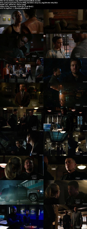 Arrow S06E22 300MB HDTV 720p x264