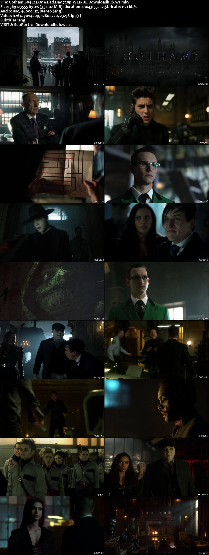 Gotham S04E21 350MB Web-DL 720p x264 ESubs