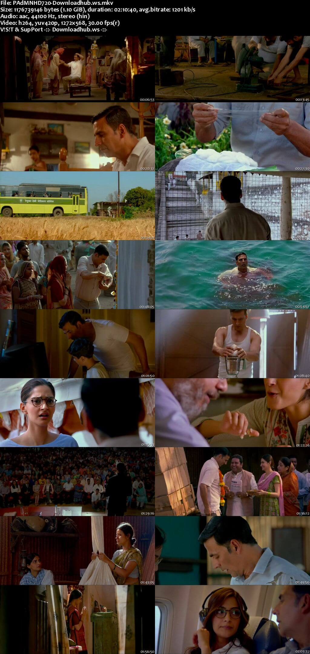 Padman 2018 Hindi 720p HDRip