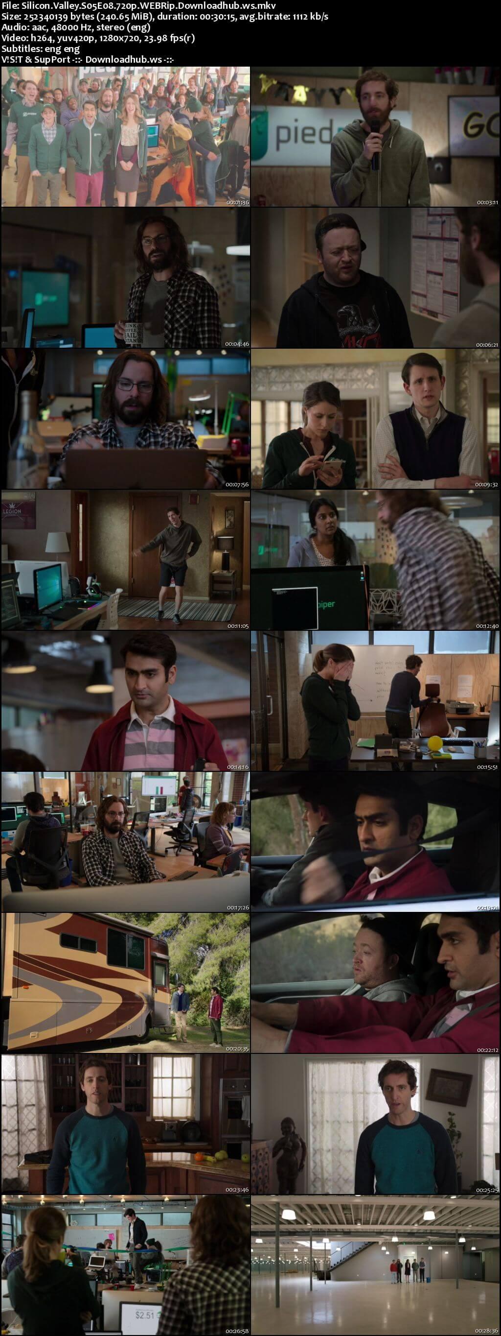 Silicon Valley S05E08 240MB WEBRip 720p x264