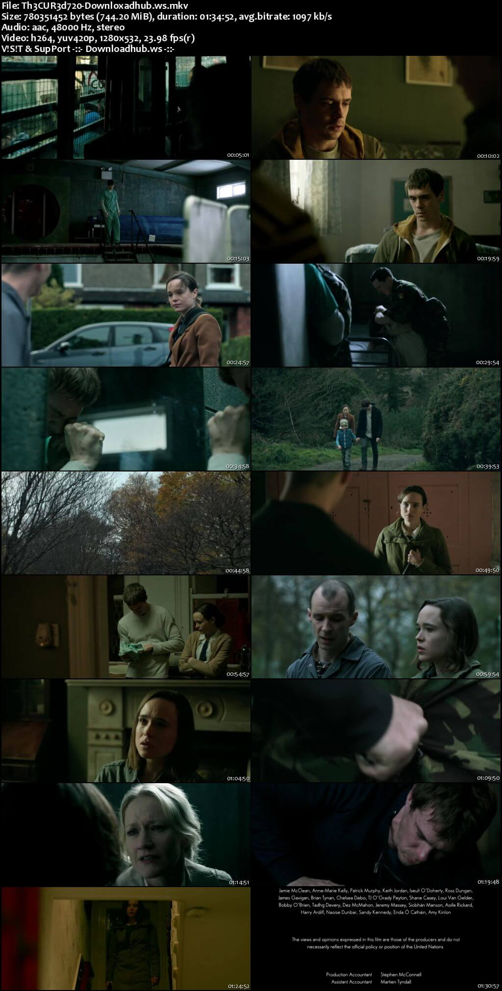 The Cured 2017 English 720p Web-DL 750MB