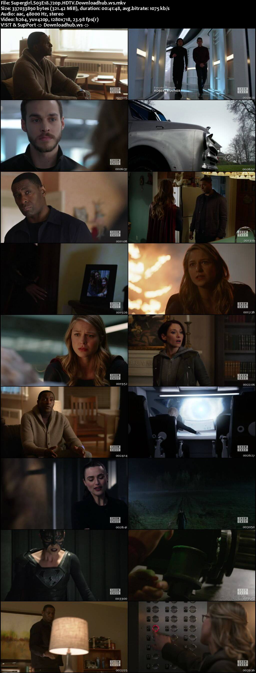Supergirl S03E18 321MB HDTV 720p x264