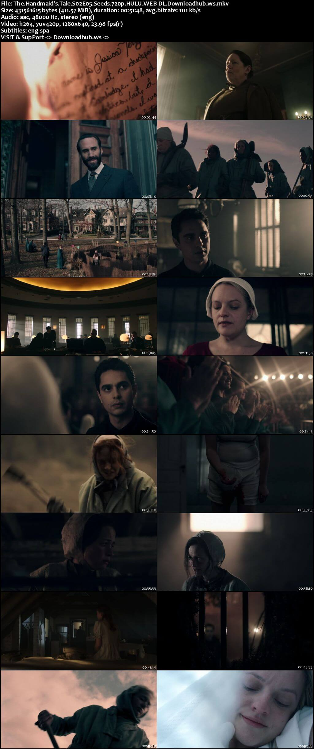 The Handmaids Tale S02E05 400MB HULU WEB-DL 720p x264 ESubs