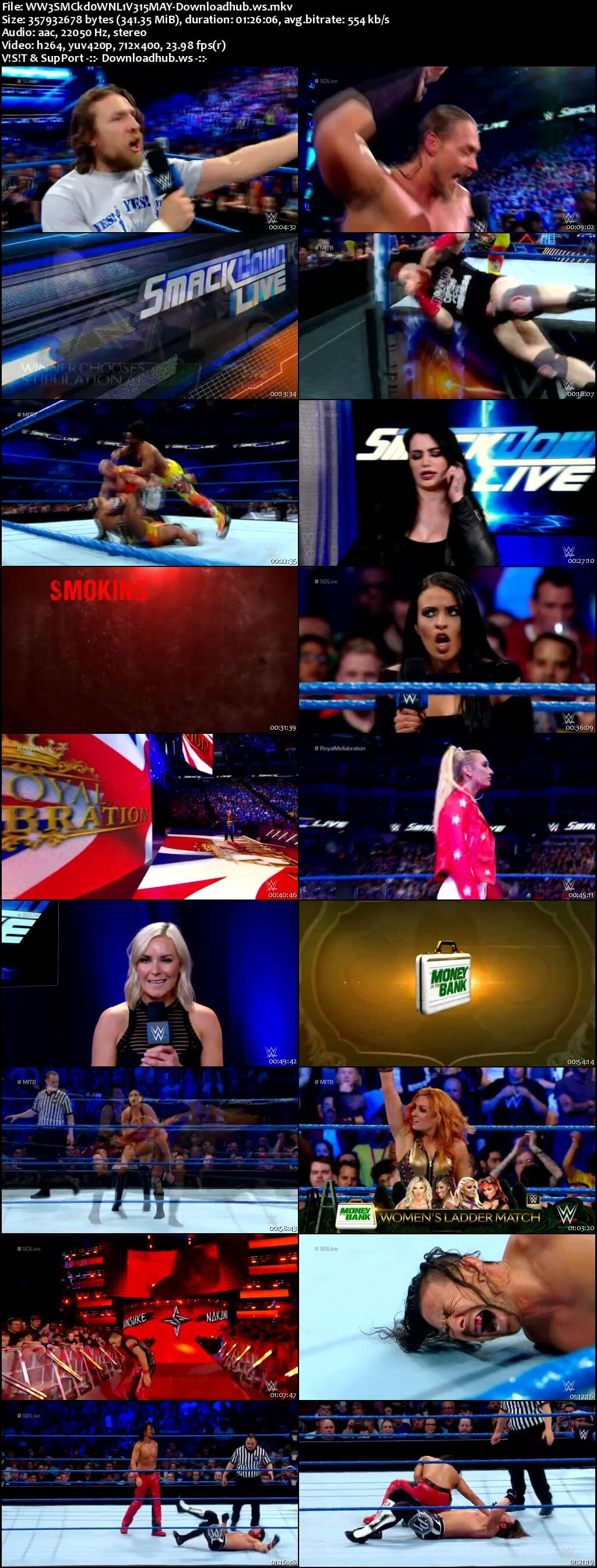 WWE Smackdown Live 15 May 2018 480p HDTV Download