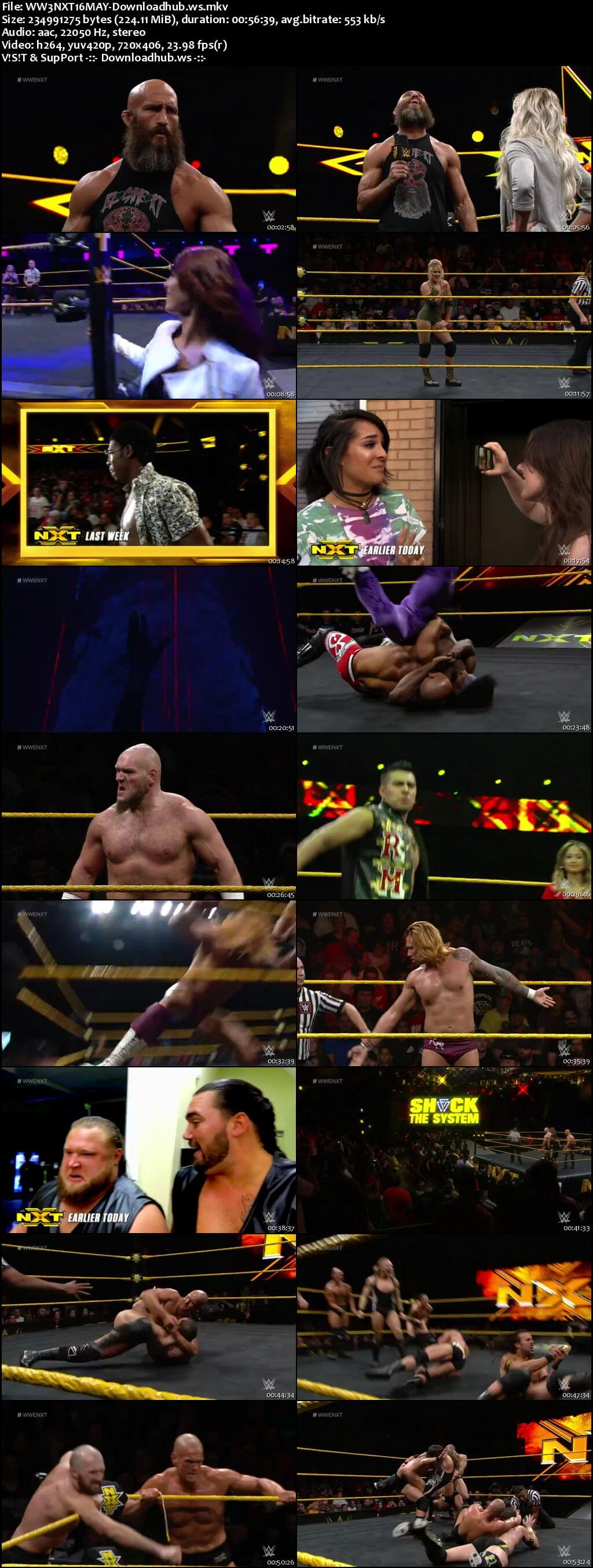 WWE NXT 16 May 2018 480p HDTV Download