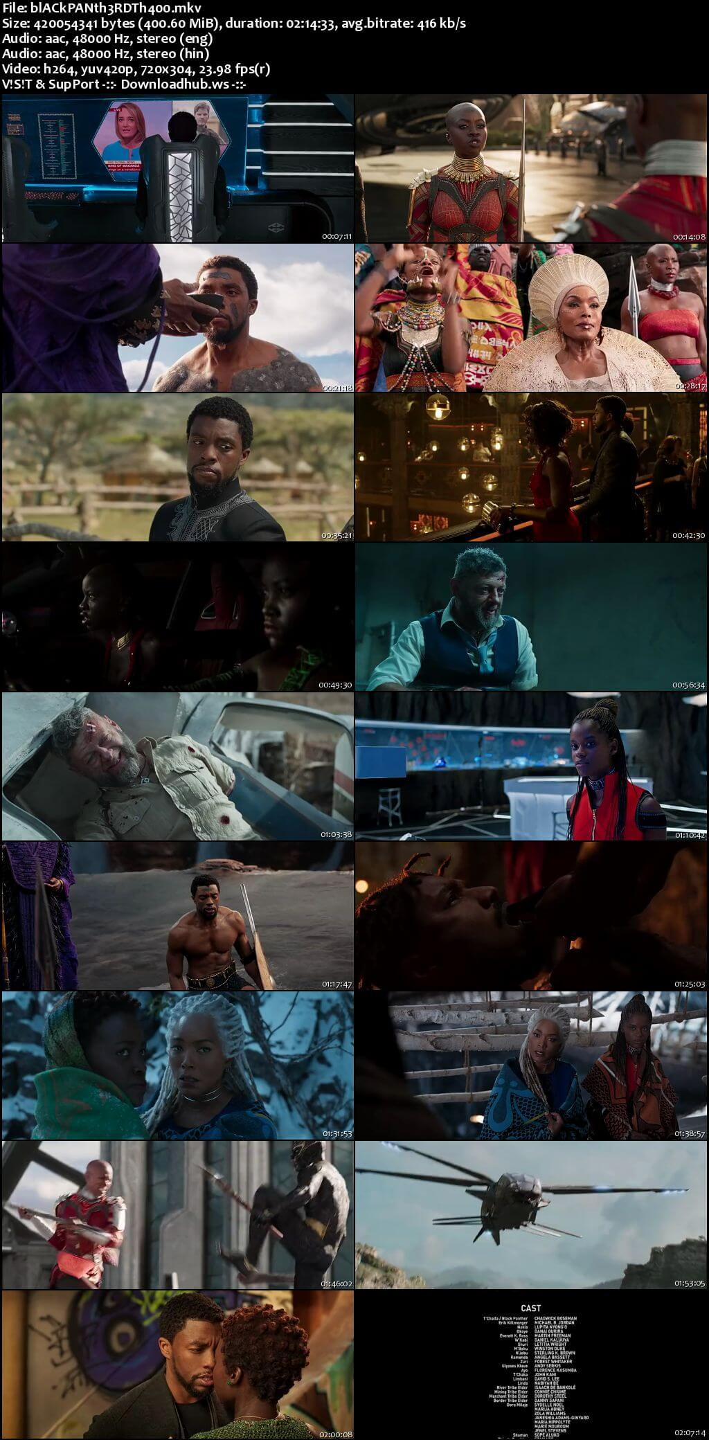 Black Panther 2018 Hindi Dual Audio 480p BluRay Free Download