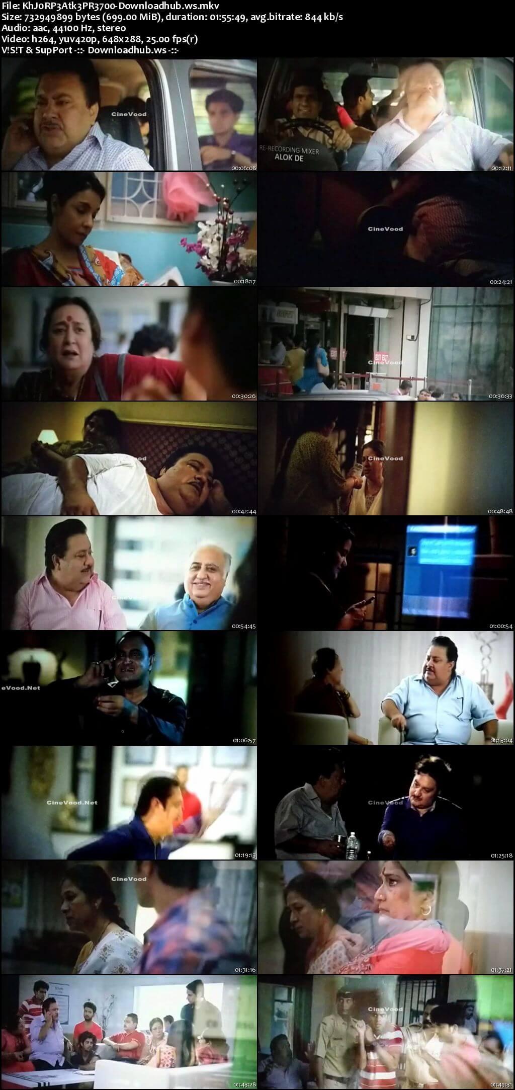 Khajoor Pe Atke 2018 Hindi 700MB Pre-DVDRip x264