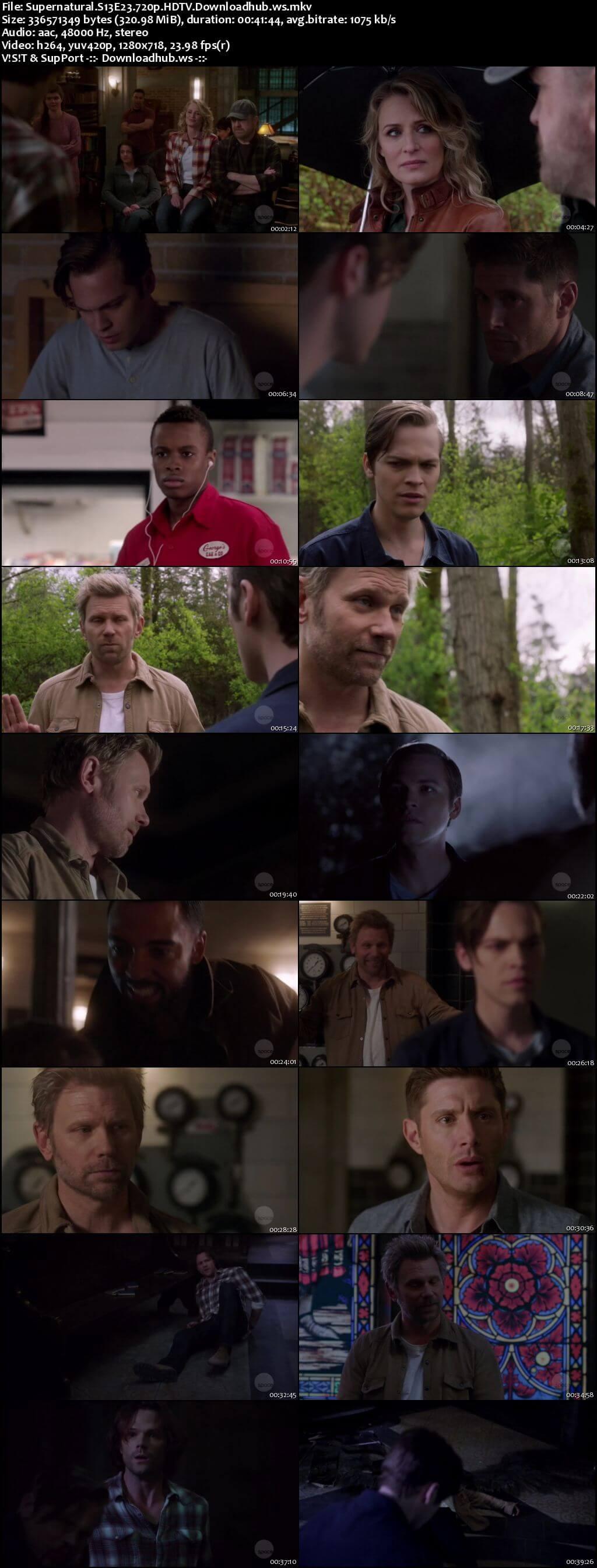 Supernatural S13E23 300MB HDTV 720p x264