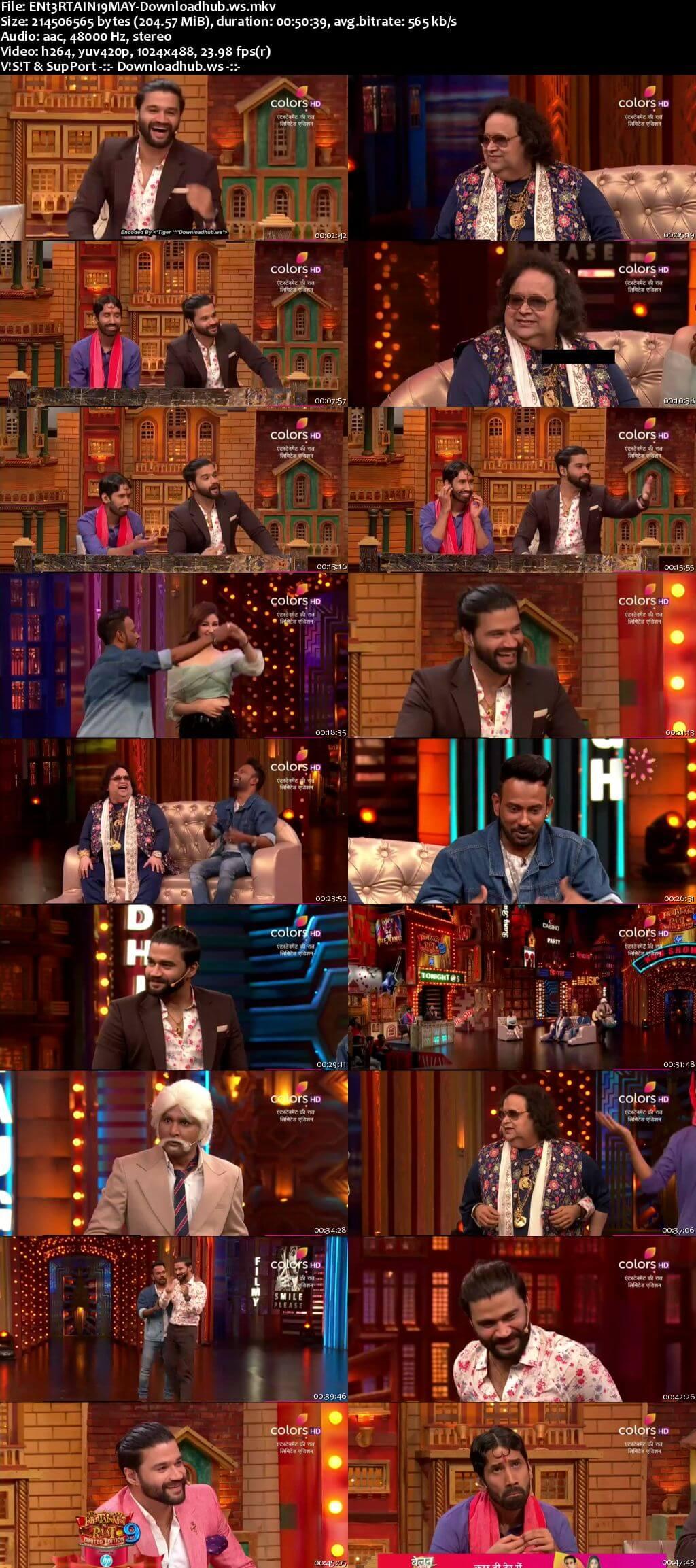 Entertainment Ki Raat 19 May 2018 Episode 35 HDTV 480p