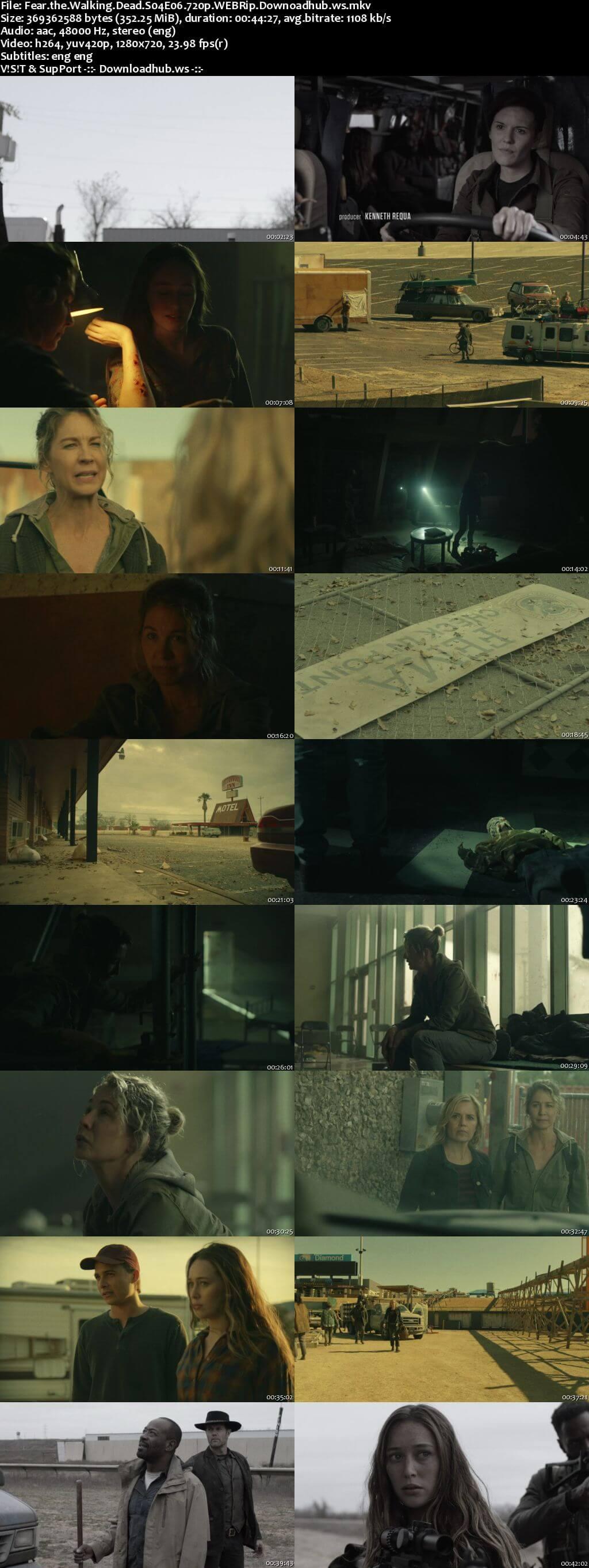Fear the Walking Dead S04E06 350MB WEBRip 720p x264 ESubs