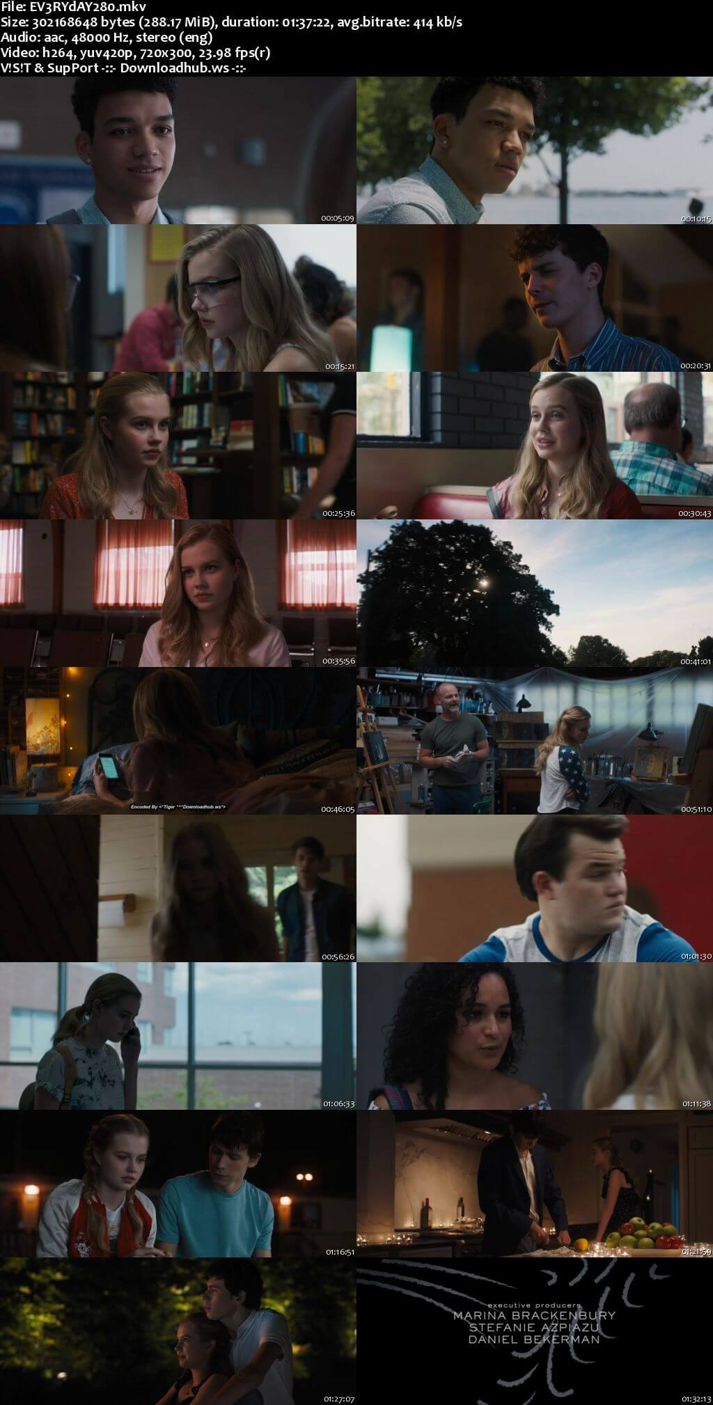 Every Day 2018 English 480p Web-DL ESubs