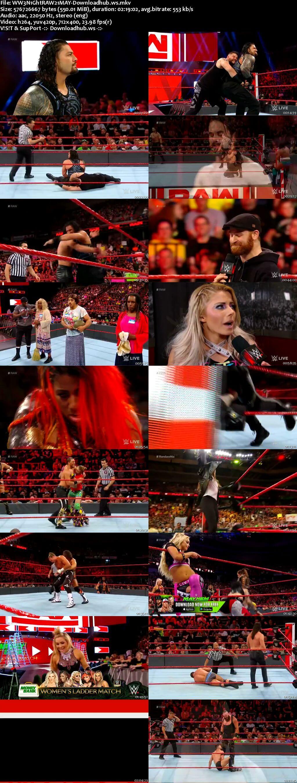 WWE Monday Night Raw 21 May 2018 480p HDTV Download