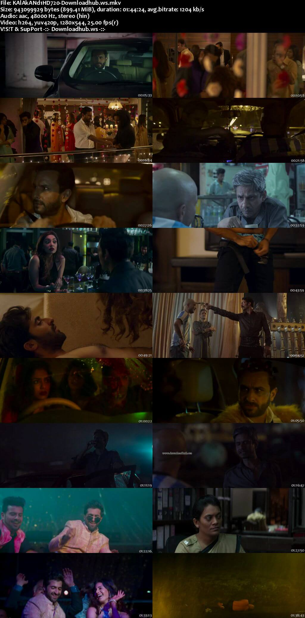Kaalakaandi 2018 Hindi 720p HDRip