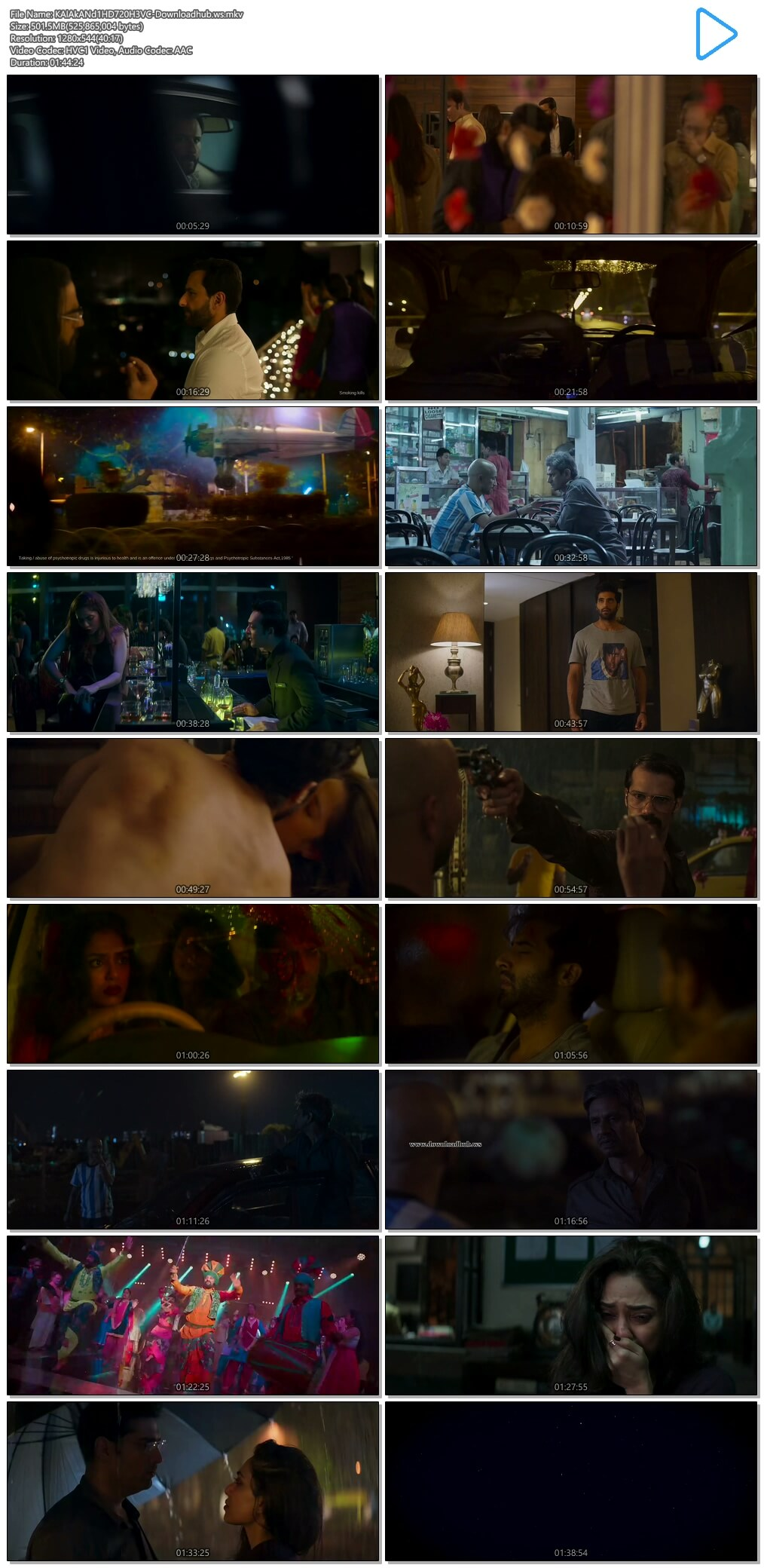 Kaalakaandi 2018 Hindi 720p HEVC HDRip
