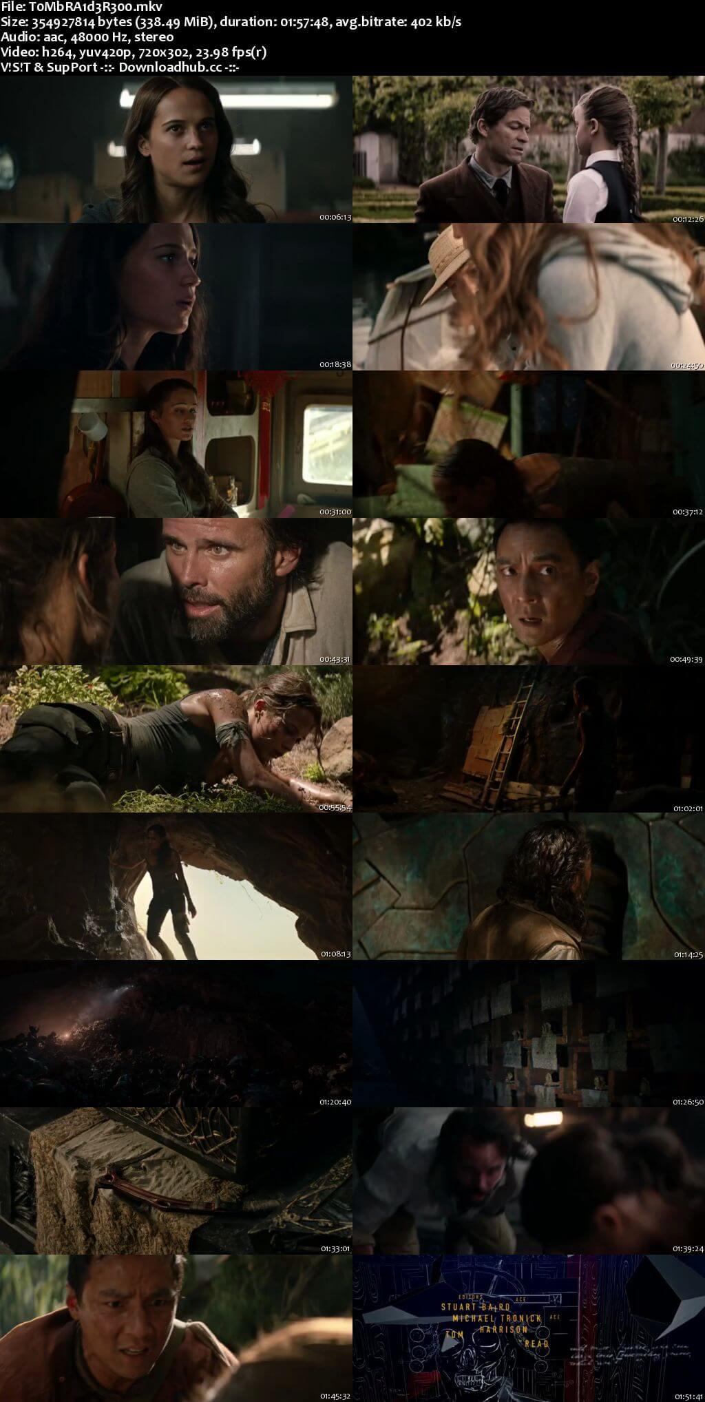 Tomb Raider 2018 English 480p Web-DL ESubs