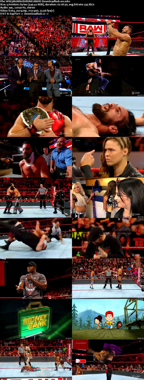 WWE Monday Night Raw 28 May 2018 480p HDTV Download