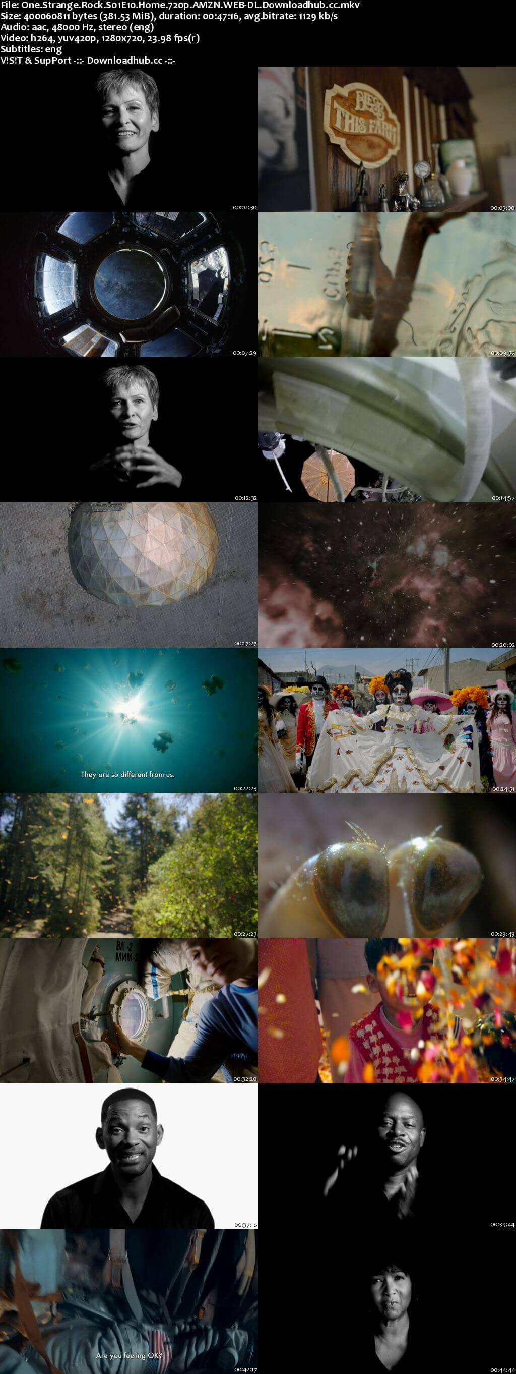 One Strange Rock S01E10 380MB WEBRip 720p x264