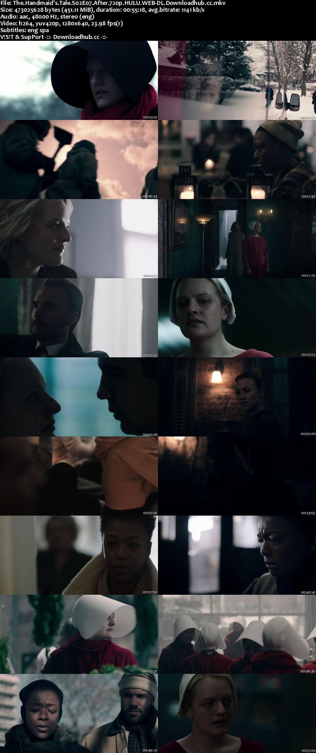 The Handmaids Tale S02E07 450MB HULU WEB-DL 720p x264 ESubs