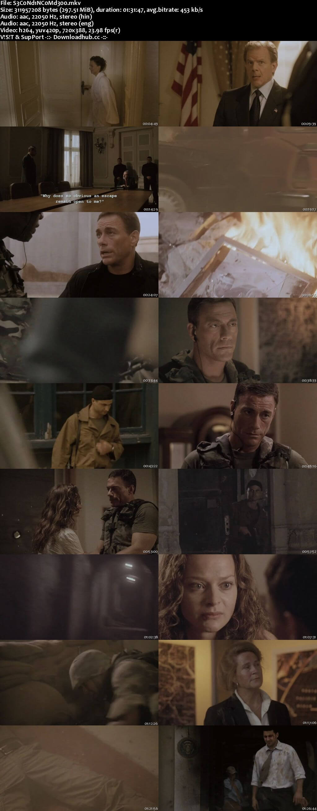 Second in Command 2006 Hindi Dual Audio 480p BluRay Free Download