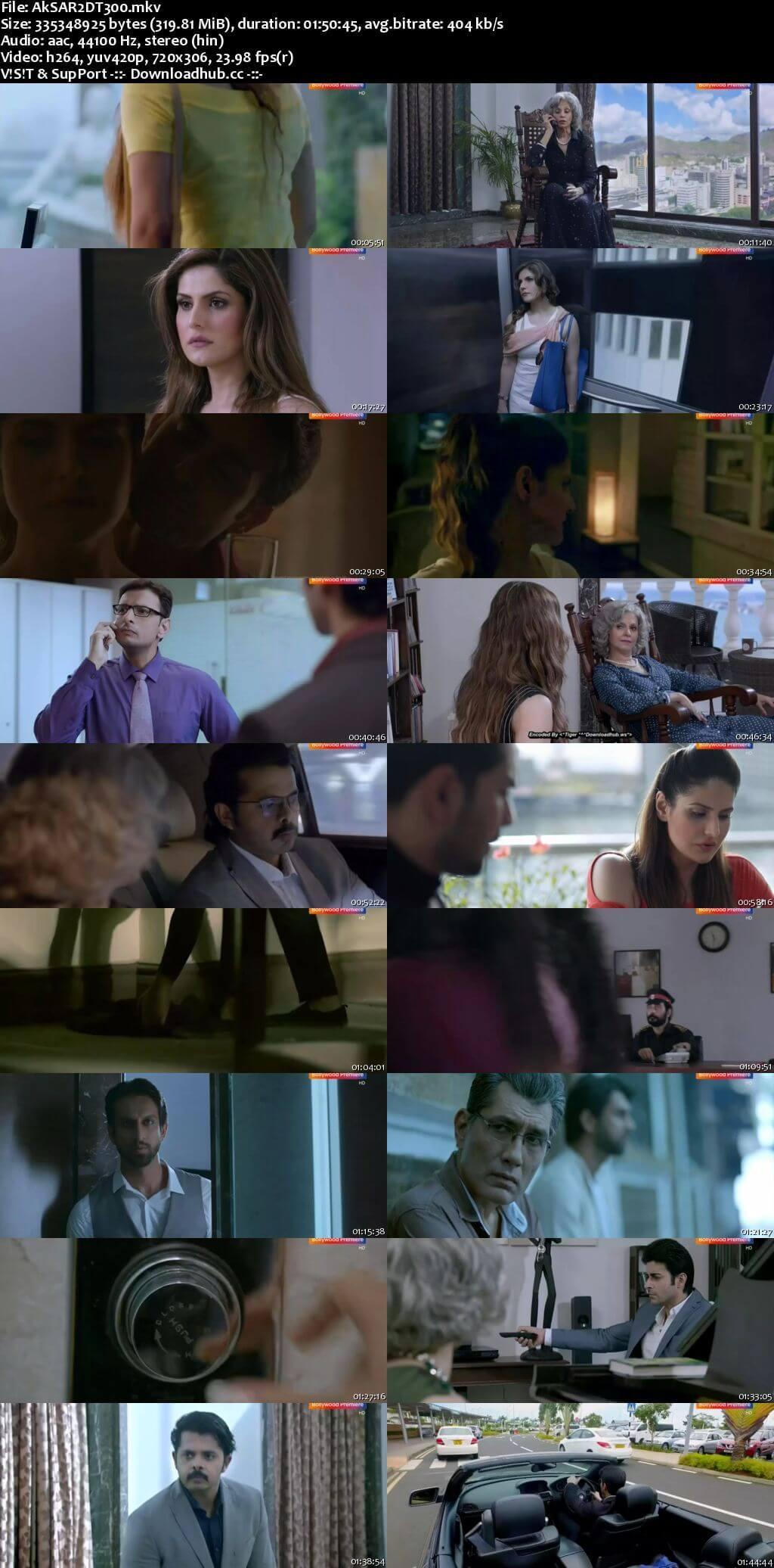 Aksar 2 2017 Hindi 480p DTHRip