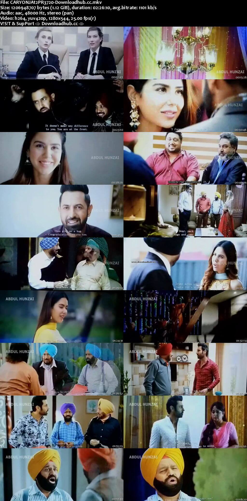 Carry on Jatta 2 2018 Punjabi 720p Pre-DVDRip