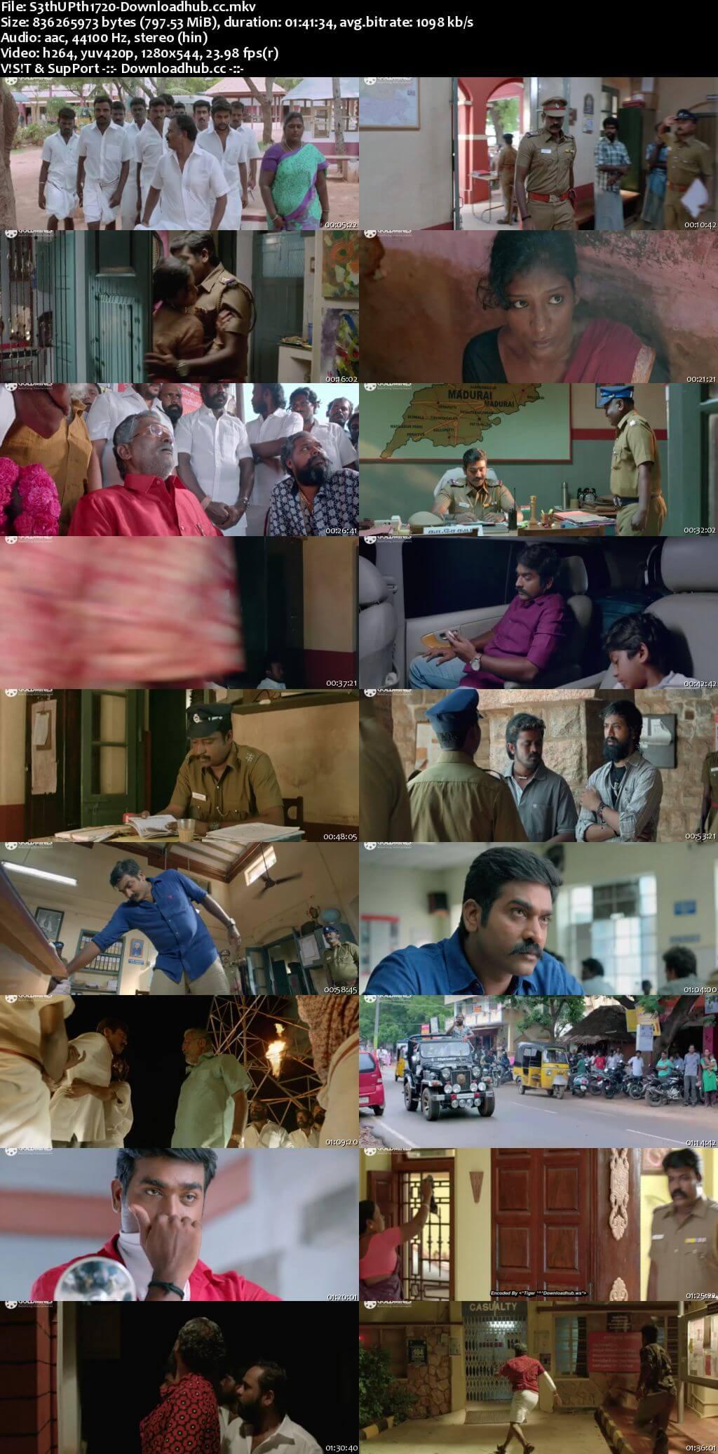 Sethupathi 2018 Hindi Dubbed 720p HDRip