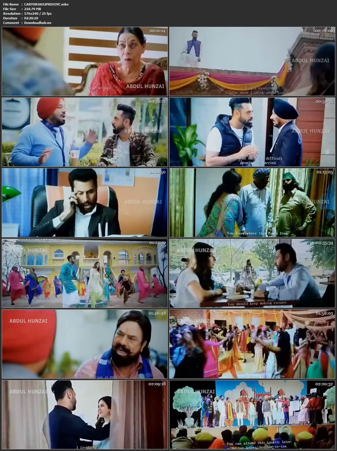 Carry on Jatta 2 2018 Punjabi HEVC 480p Pre-DVDRip