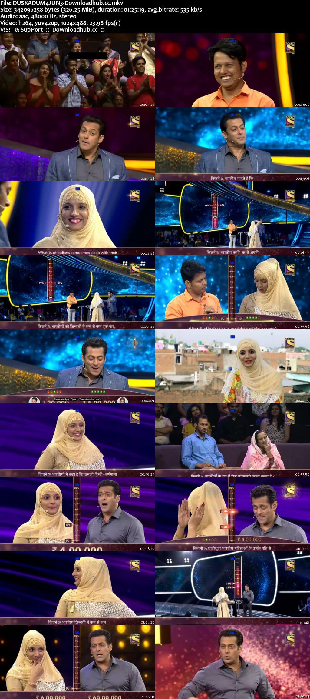 Dus Ka Dum 04 June 2018 Episode 01 HDTV 480p