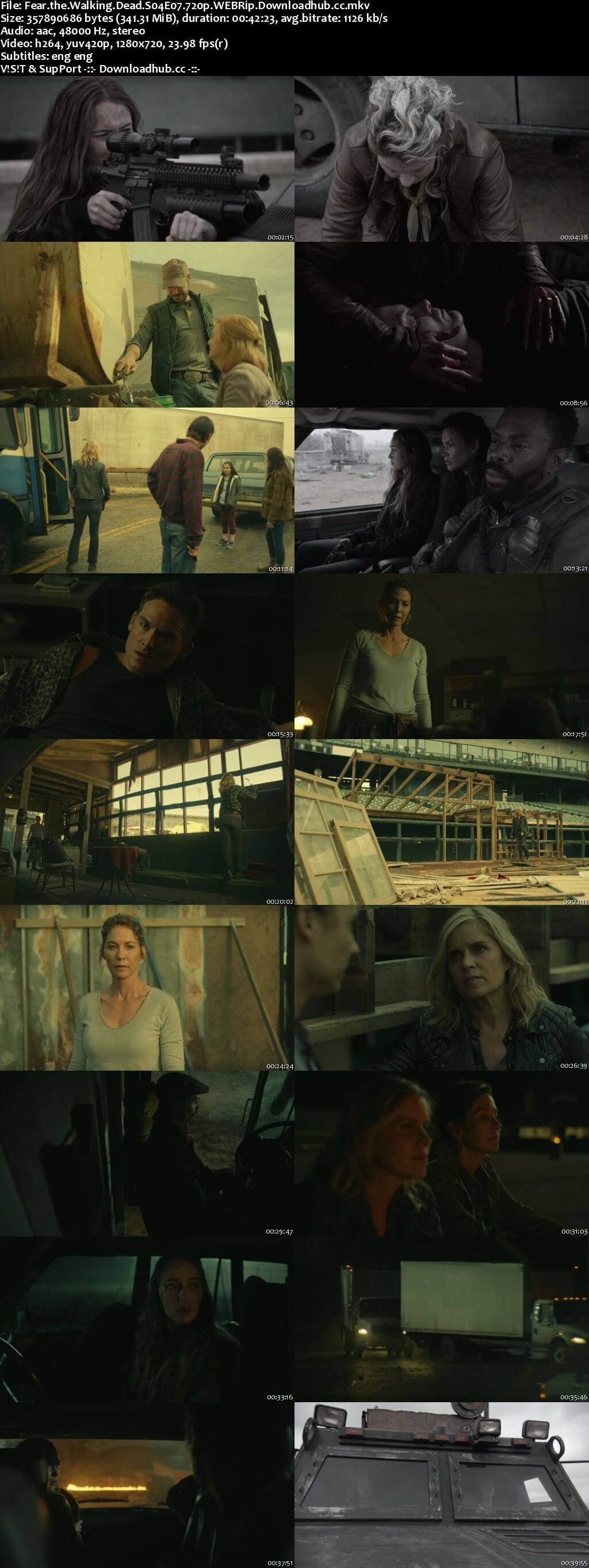 Fear the Walking Dead S04E07 350MB WEBRip 720p x264 ESubs