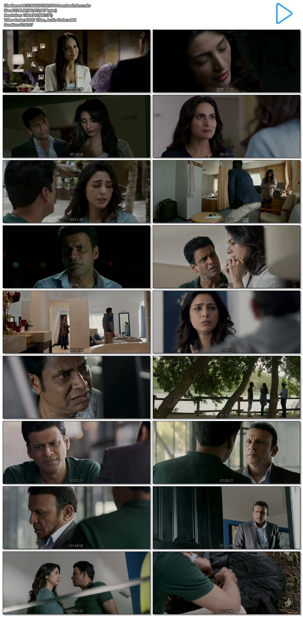 Missing 2018 Hindi 720p HEVC HDRip ESubs