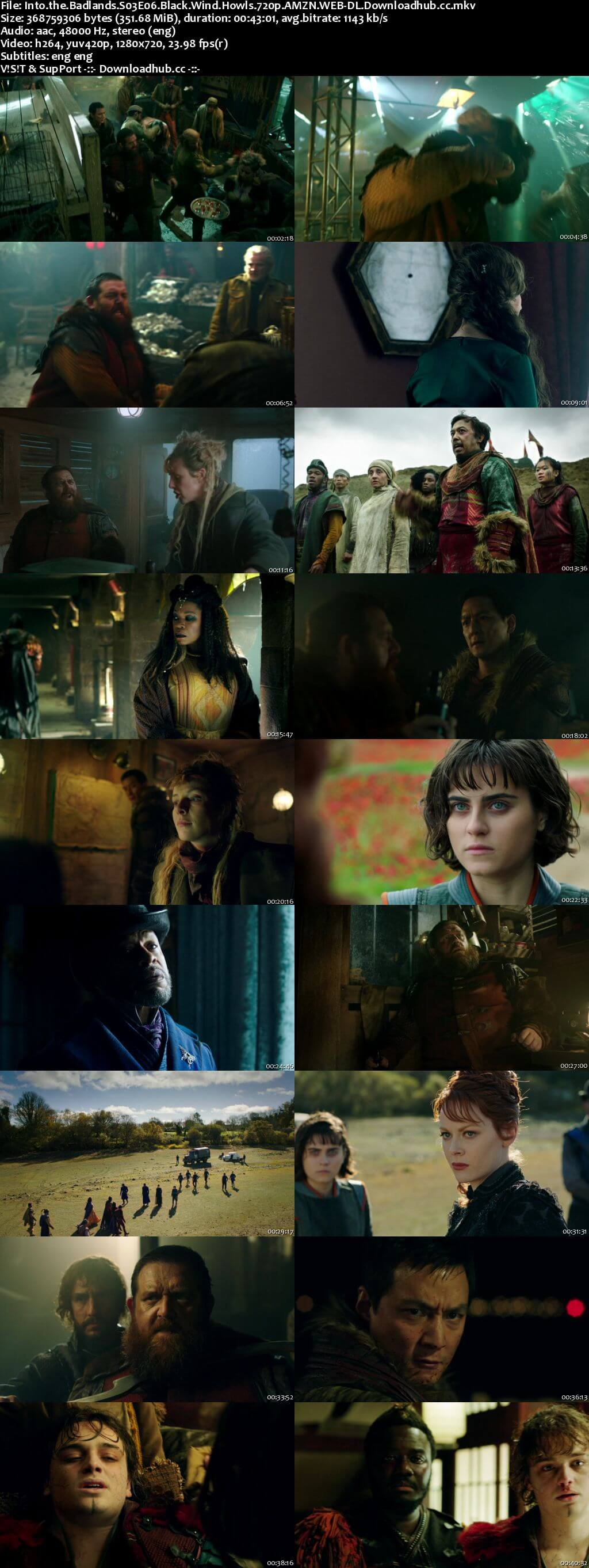 Into the Badlands S03E06 350MB WEB-DL 720p x264 ESubs