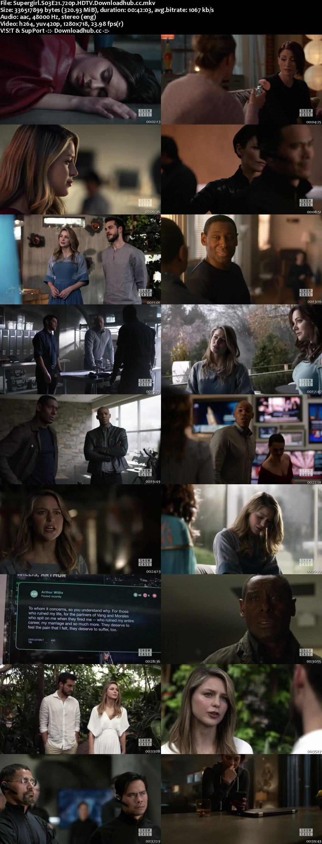 Supergirl S03E21 320MB HDTV 720p x264