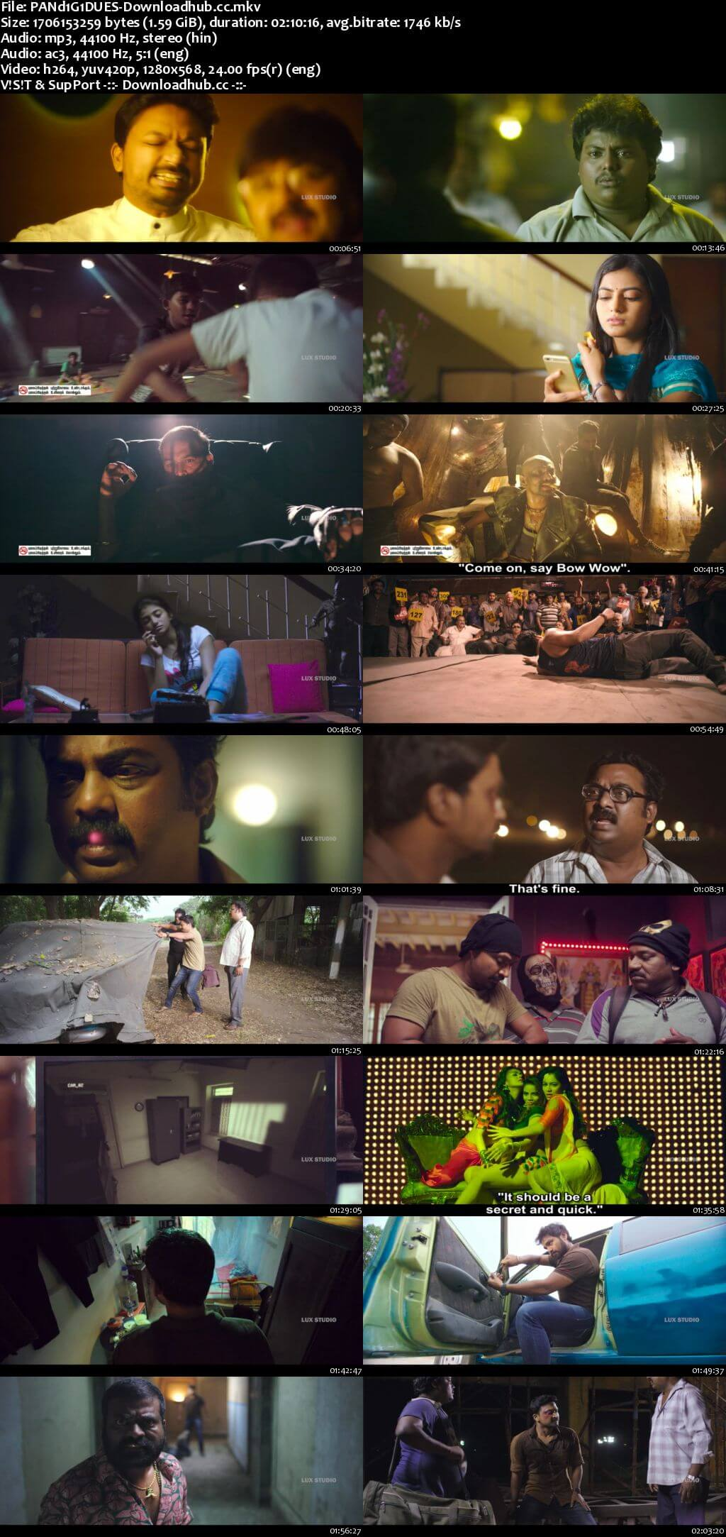 Pandigai 2017 UNCUT Hindi Dual Audio 720p HDRip Free Download
