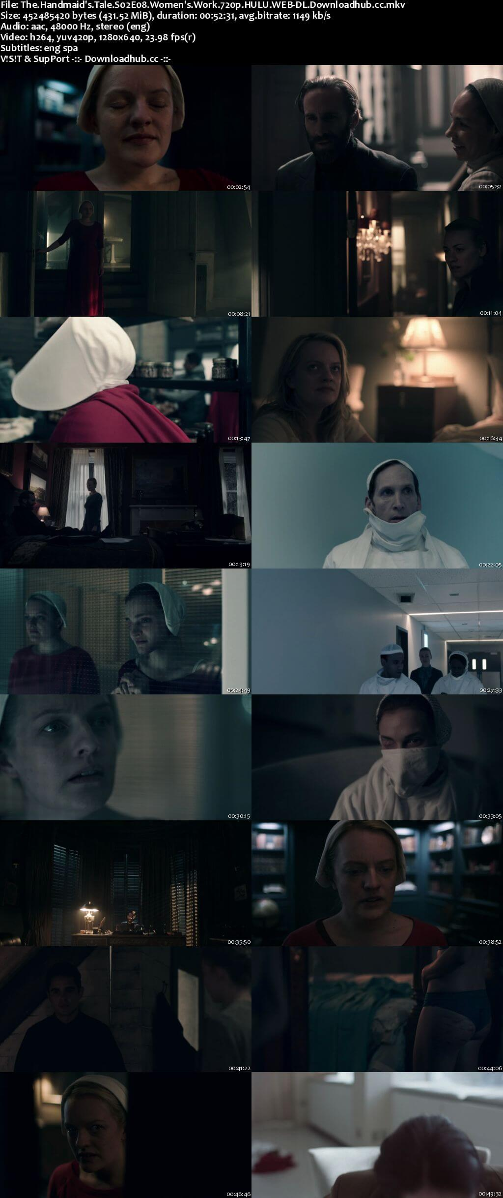 The Handmaids Tale S02E08 400MB HULU WEB-DL 720p x264 ESubs