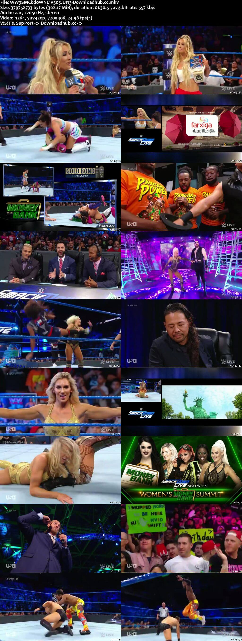 WWE Smackdown Live 05 June 2018 480p HDTV Download