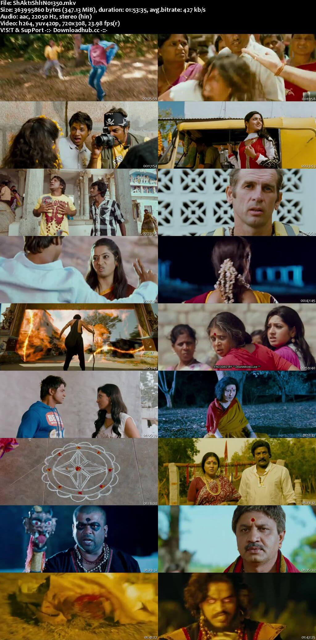 Shaktishali No1 2018 Hindi Dubbed 480p HDRip