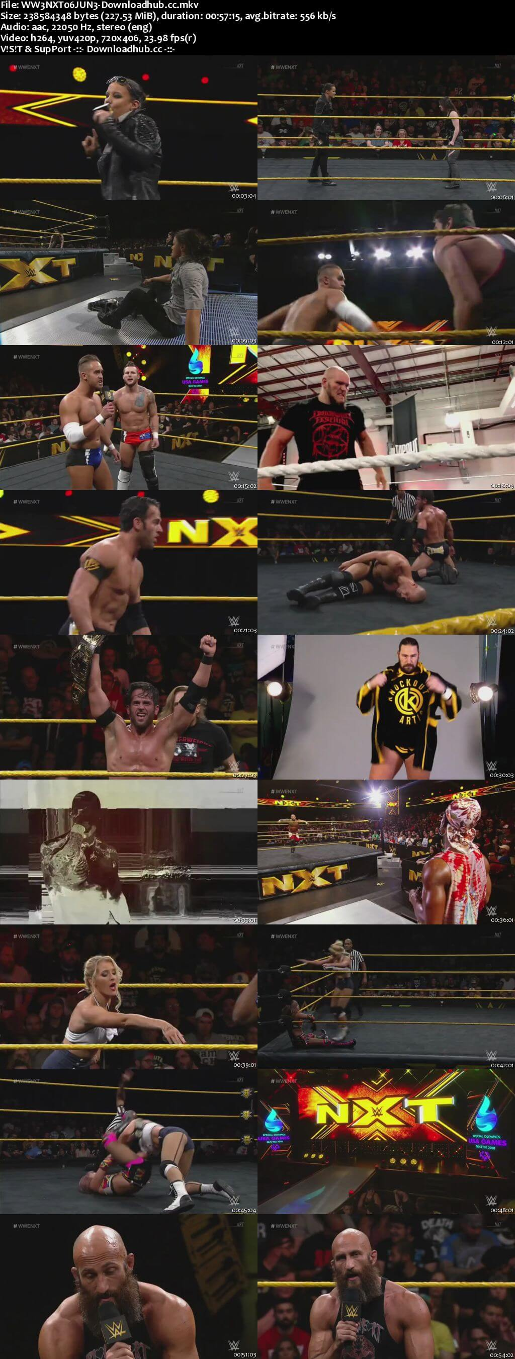 WWE NXT 06 June 2018 480p HDTV Download